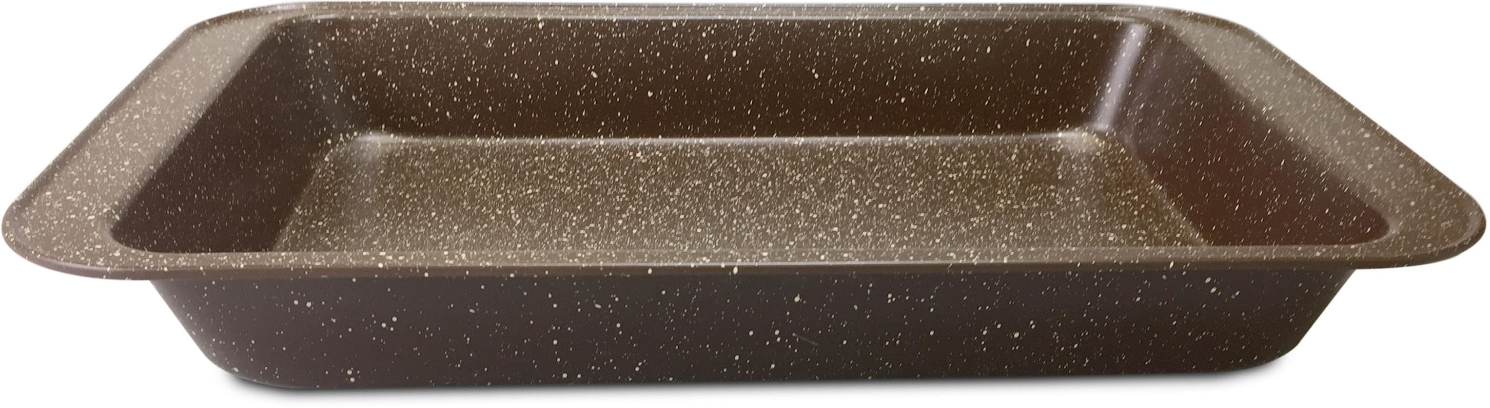 Противень MoulinvillaBrownstone, 36,5 х 24,7 х 5,4 см нож универсальный 12 5 см moulinvilla granate utility kgu 012