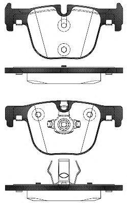 Колодки тормозные дисковые Remsa, комплект. 149300149300