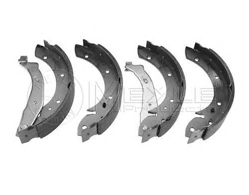 Колодки тормозные дисковые Meyle. 11-14533000111-145330001
