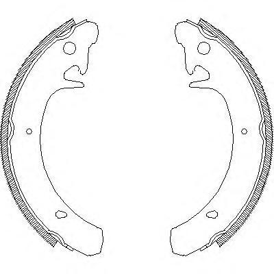 Колодки тормозные дисковые Remsa, комплект. 412900412900