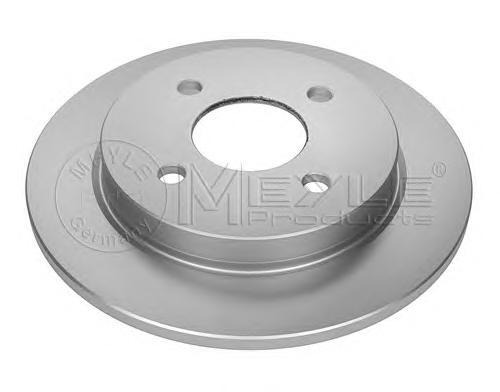 Диск тормозной Meyle, 2 шт. 7155237003/PD7155237003/PD