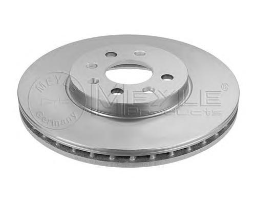 Диск тормозной Meyle, 2 шт. 6155216032/PD6155216032/PD