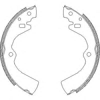 Колодки тормозные дисковые Remsa, комплект. 412700412700