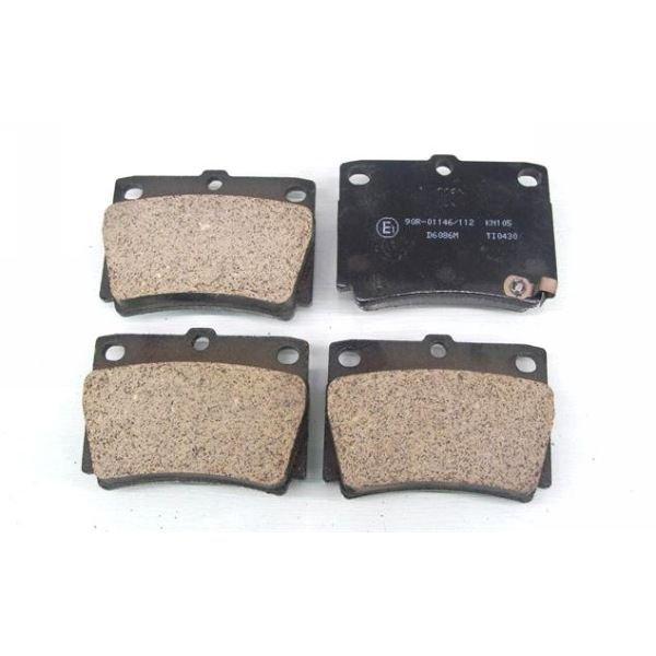 Колодки тормозные дисковые Kashiyama, задние. D6086MD6086M