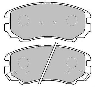 Колодки тормозные дисковые Ferodo Premier. FDB1733FDB1733