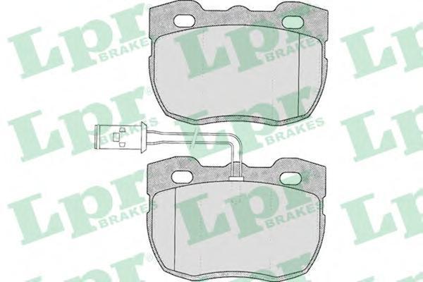 Колодки тормозные дисковые LPR / AP. 05P32405P324