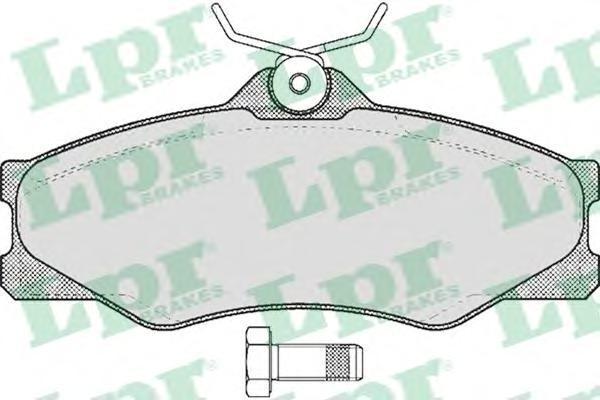 Колодки тормозные дисковые LPR / AP. 05P32505P325