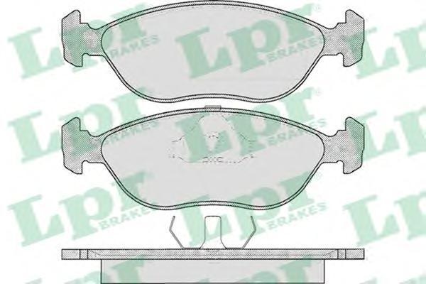 Колодки тормозные дисковые LPR / AP. 05P59205P592