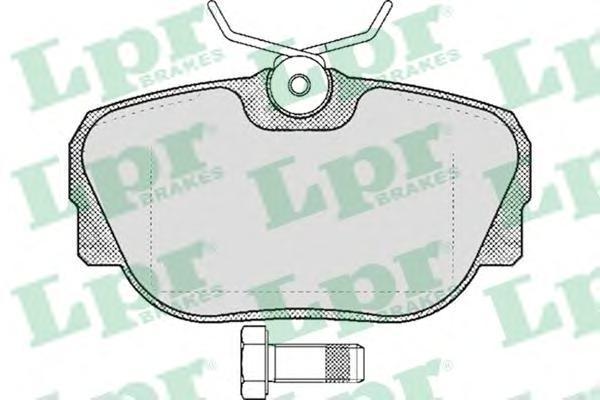 Колодки тормозные дисковые LPR / AP. 05P31905P319