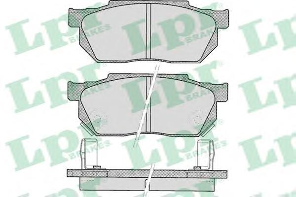 Колодки тормозные дисковые LPR / AP. 05P32205P322