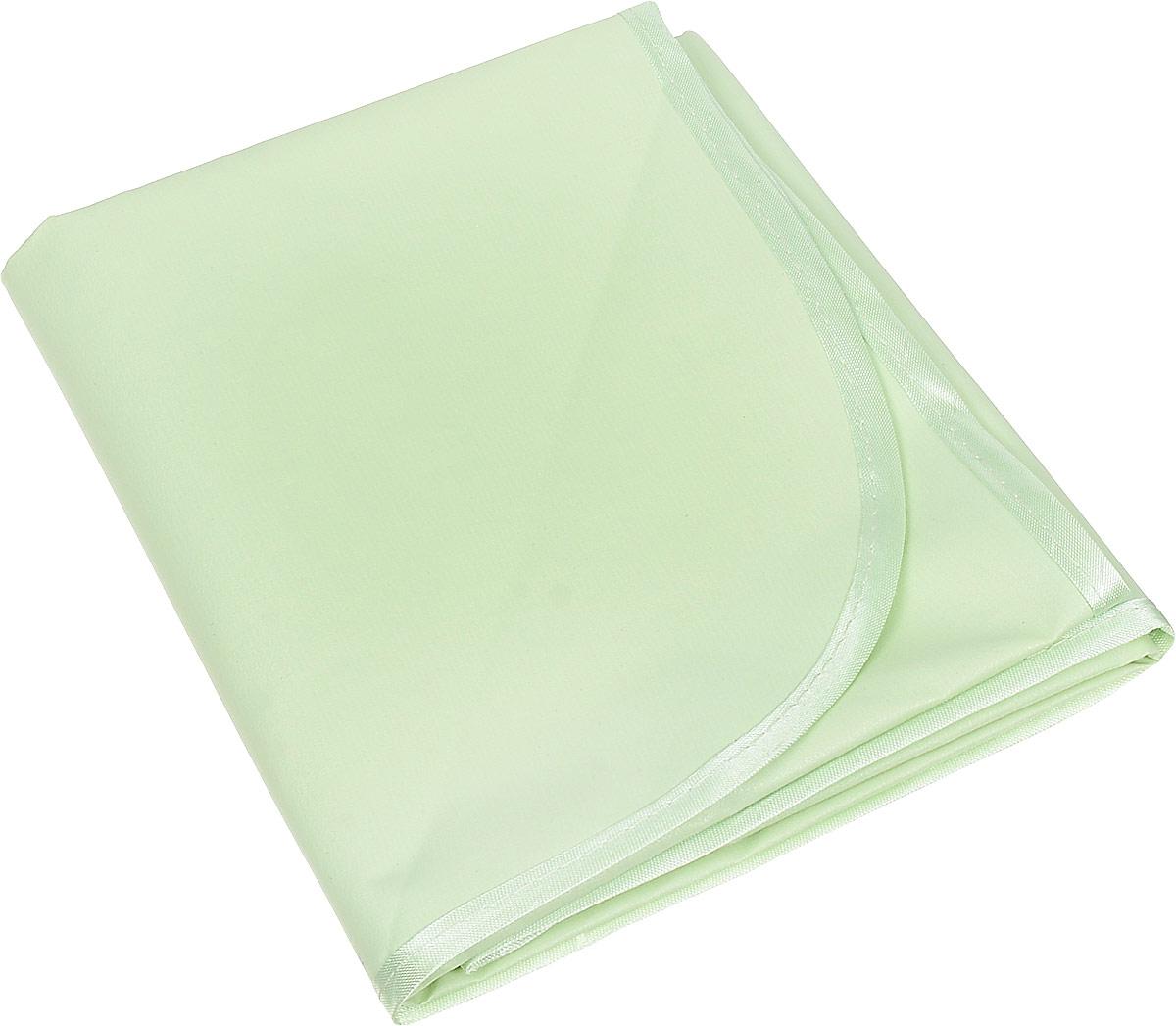 Колорит Клеенка подкладная с окантовкой цвет мятный 70 х 100 см -  Подгузники и пеленки