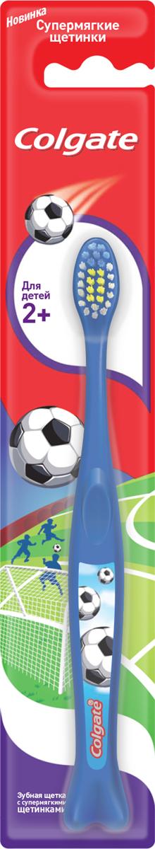 Colgate Зубная щетка Для детей 2+, супермягкая, цвет: синий4024540_синийЗубная щетка Colgate Для детей 2+ рекомендована для детей от 2 лет и старше с передними молочными и прорезывающимися задними зубами. Закругленная головка поможет бережно очистить даже труднодоступные места, а яркий дизайн превратит скучную процедуру в увлекательную игру. Стоматологи и гигиенисты рекомендуют менять зубную щетку каждые 3 месяца.Товар сертифицирован.