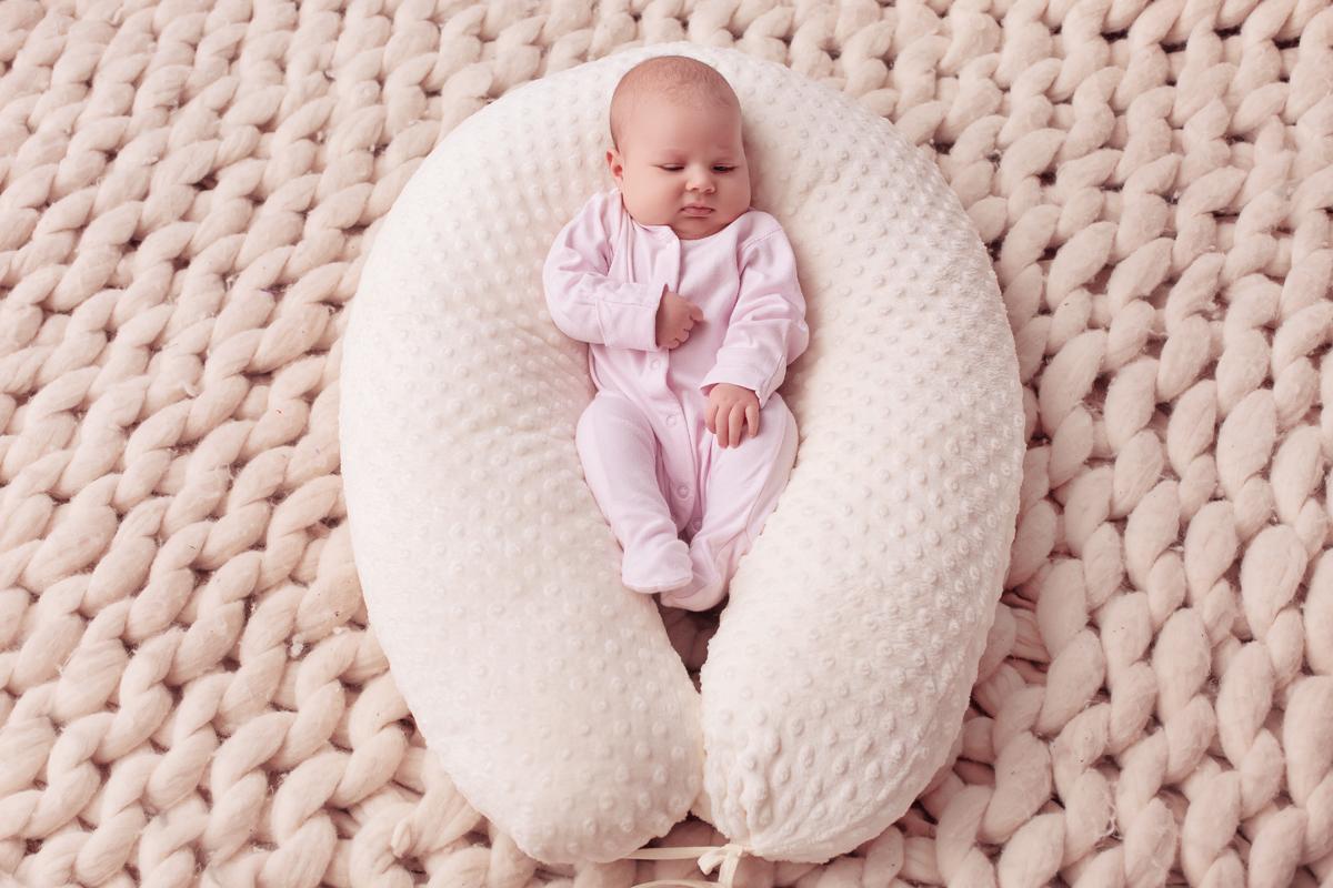 40 недель Подушка для беременных и кормления цвет бежевый 170 х 30 см - Подушки для беременных и кормящих