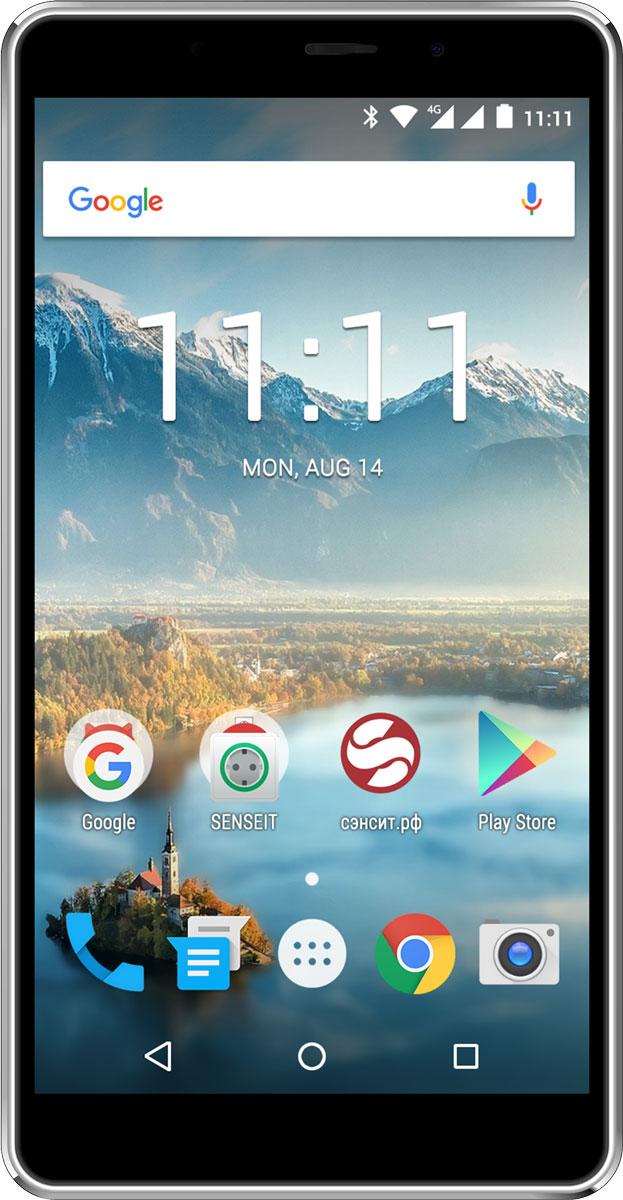 SENSEIT T300, Black смартфон - Смартфоны
