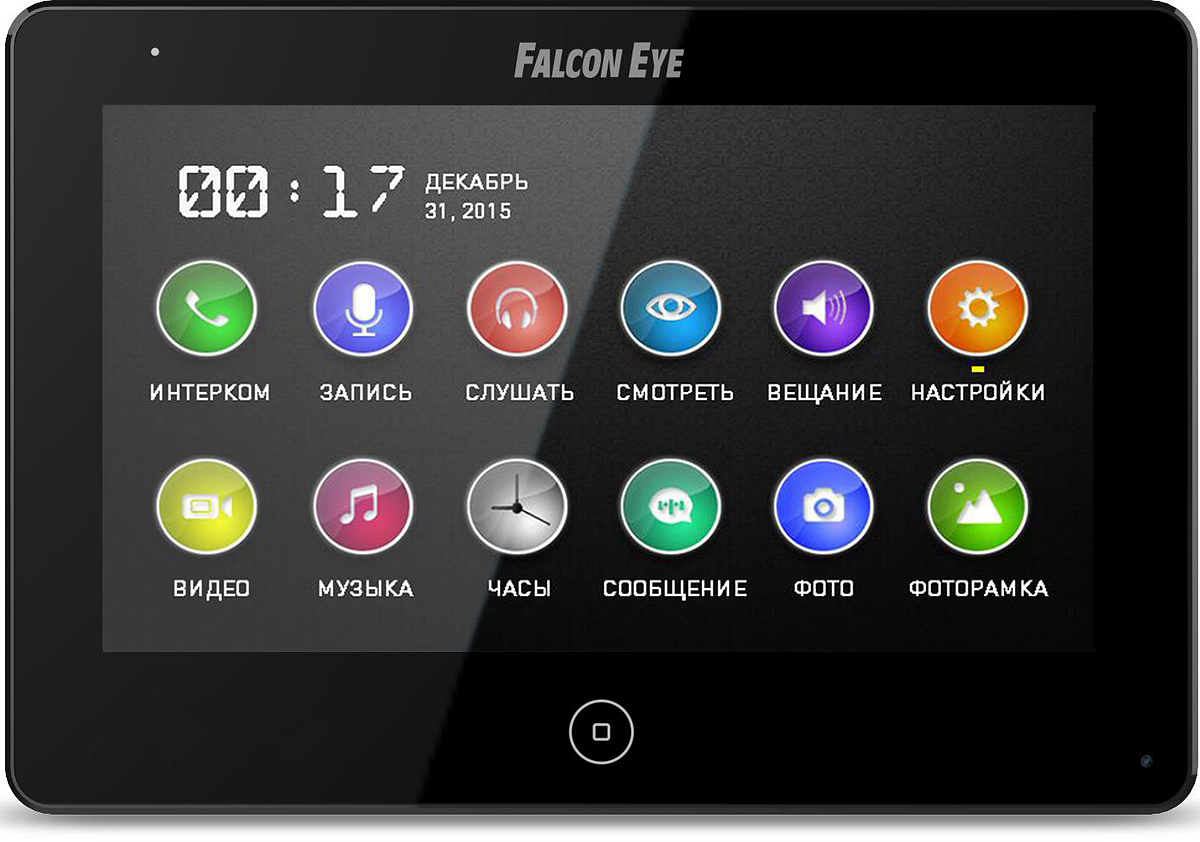 Falcon Eye FE-70 CAPELLA DVR, Black видеодомофон