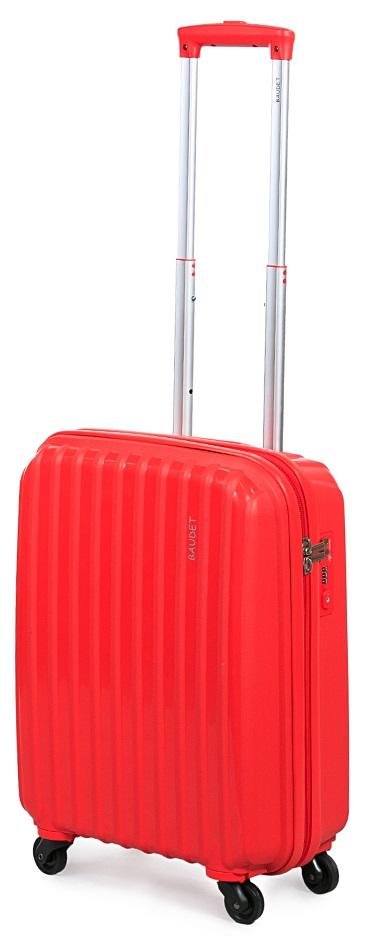 Чемодан Baudet, на колесах, цвет: красный, 47 х 40 х 25 см, 37,6 лBHL0708801-50Чемодан Baudet надежный и практичный в путешествии. Выполнен из прочного и ударостойкого полипропилена, материал внутренней отделки - полиэстеровая ткань серого цвета. Чемодан содержит продуманную внутреннюю организацию. Имеется одно большое отделение, которое закрывается по периметру на застежку-молнию. Внутри содержатся два больших отдела для хранения одежды. Для легкой и удобной перевозки чемодан оснащен четырьмя колесами, вращающимися на 360 градусов. Телескопическая ручка выдвигается нажатием на кнопку и фиксируется в двух положениях. Сверху предусмотрена ручка для поднятия чемодана.Чемодан оснащен кодовым замком TSA, который исключает возможность взлома. Отверстие для ключа в кодовом замке предназначено для работников таможни (открытие багажа для досмотра без присутствия хозяина). Ключ находится только у таможни и в комплекте с чемоданом не идет.