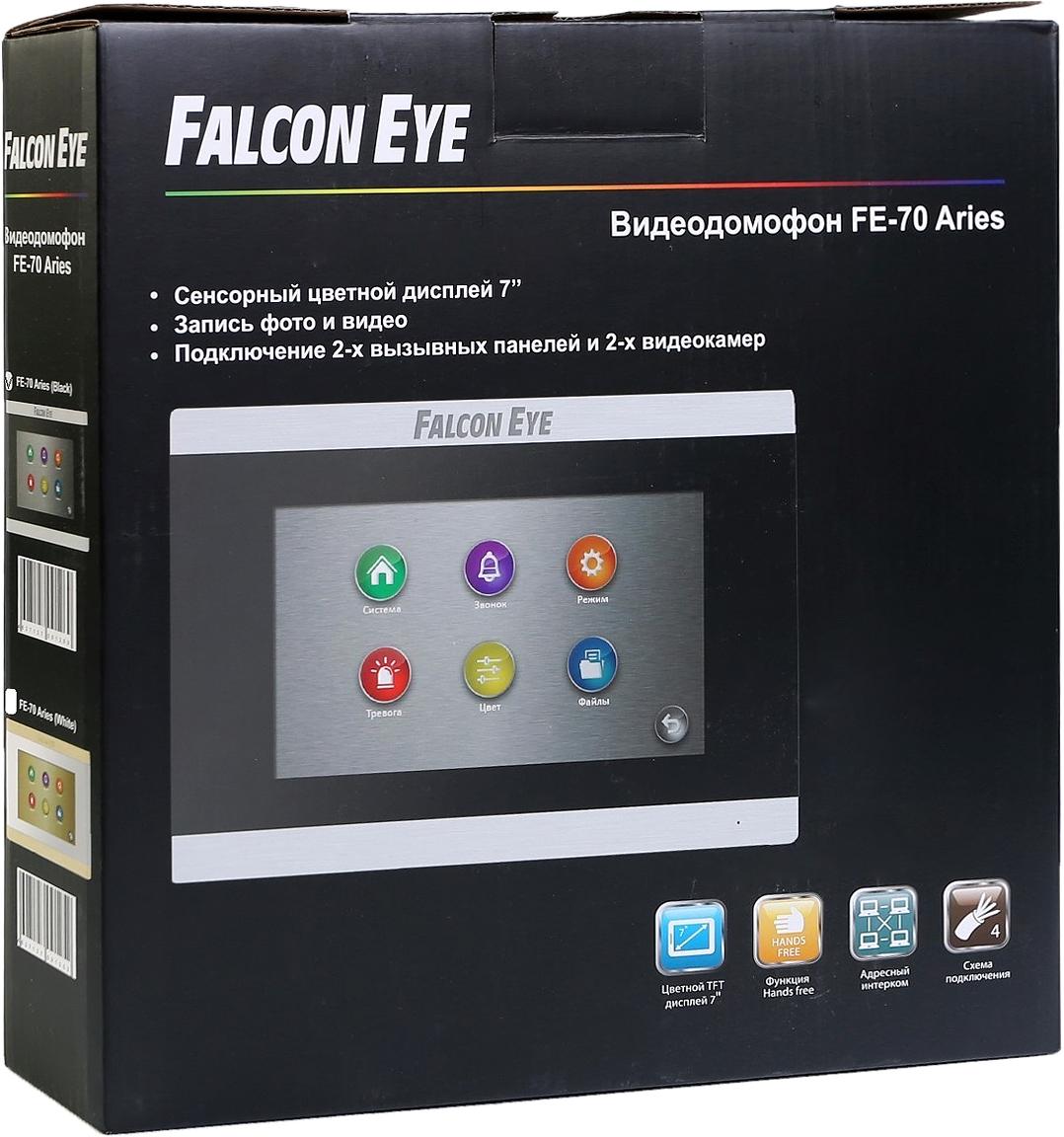 Falcon Eye FE-70 ARIES, Blackвидеодомофон Falcon Eye