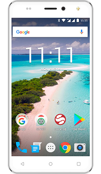 SENSEIT T250, SilverЯ0000012802Смартфон SENSEIT T250работает с двумя SIM картами - это позволит вам всегда оставаться на связи в деловых поездках. К тому же, он поддерживает сети 4G/LTE, за счет чего вы сможете моментально загружать данные.Запустить одновременно несколько приложений, проигрывать видео-файлы или загружать ресурсоёмкие страницы в интернете - всё это под силу SENSEIT T250. Четырехъядерный процессор под управлением современной ОС Android 7.0 эффективно справляется с любыми задачами.Наслаждайтесь впечатляющим качеством изображения на 5,2 дисплее. Насыщенные цвета, высокая чёткость и широкие углы обзора сделают работу с визуальным контентом, текстом и видео по-настоящему удобной.Многозадачность - главное качество SENSEIT T250. Смартфон поддерживает работу двух SIM-карт, а значит, вы легко сможете совмещать рабочие и личные звонки. Модель работает в 3G и 4G сетях, оснащена модулями Wi-Fi и Bluetooth.Прочный алюминиевый корпус c плавными изгибами выгодно выделяет SENSEIT T250 на фоне конкурентов.Телефон сертифицирован EAC и имеет русифицированный интерфейс меню и Руководство пользователя.