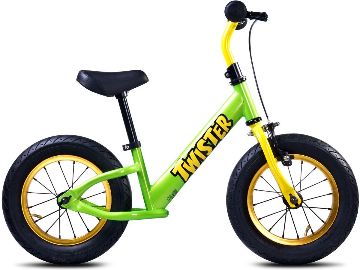 Caretero Беговел детский Twister цвет зеленый chillafish беговел детский jack