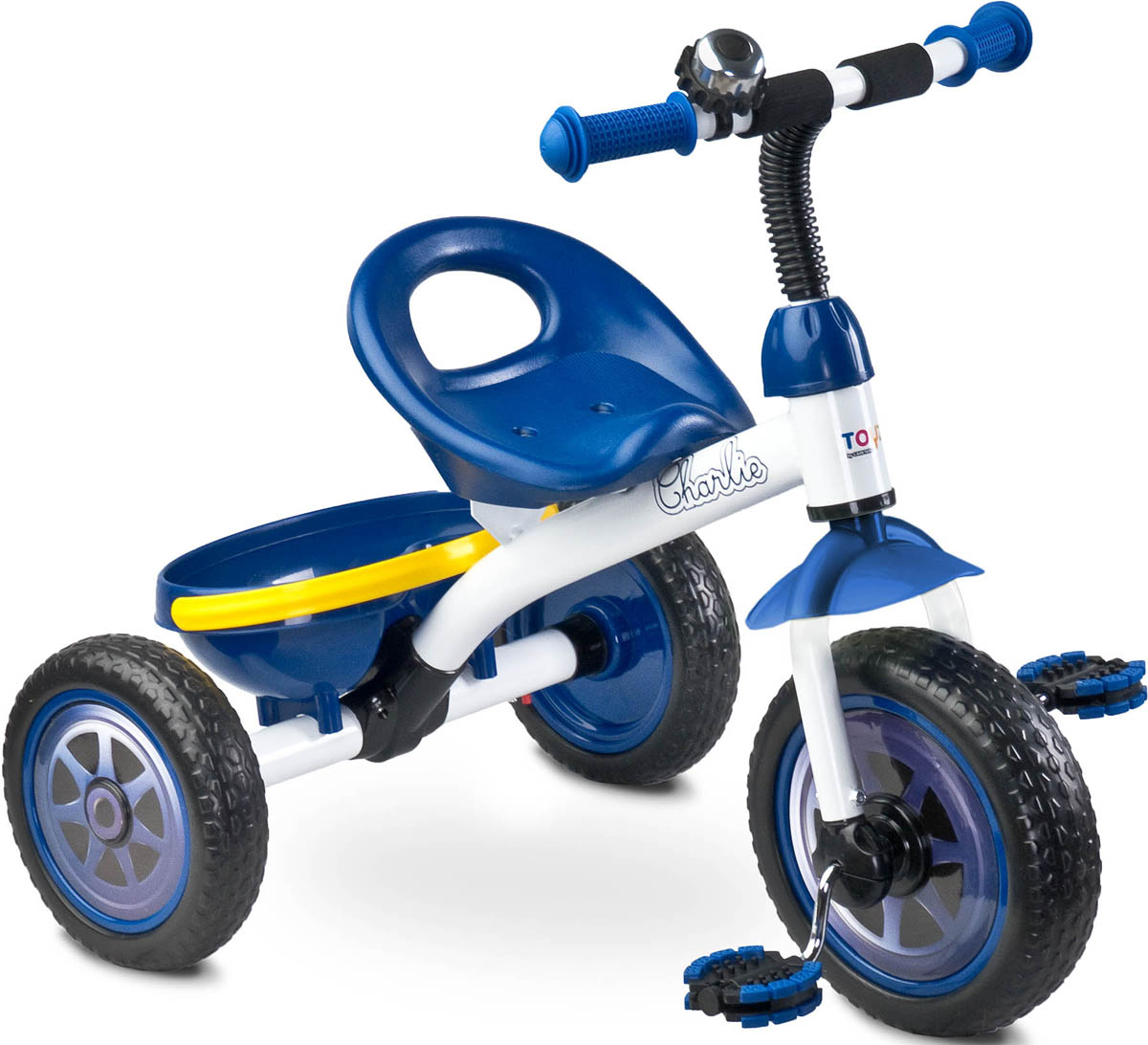 Caretero Велосипед трехколесный детский Charlie цвет синий