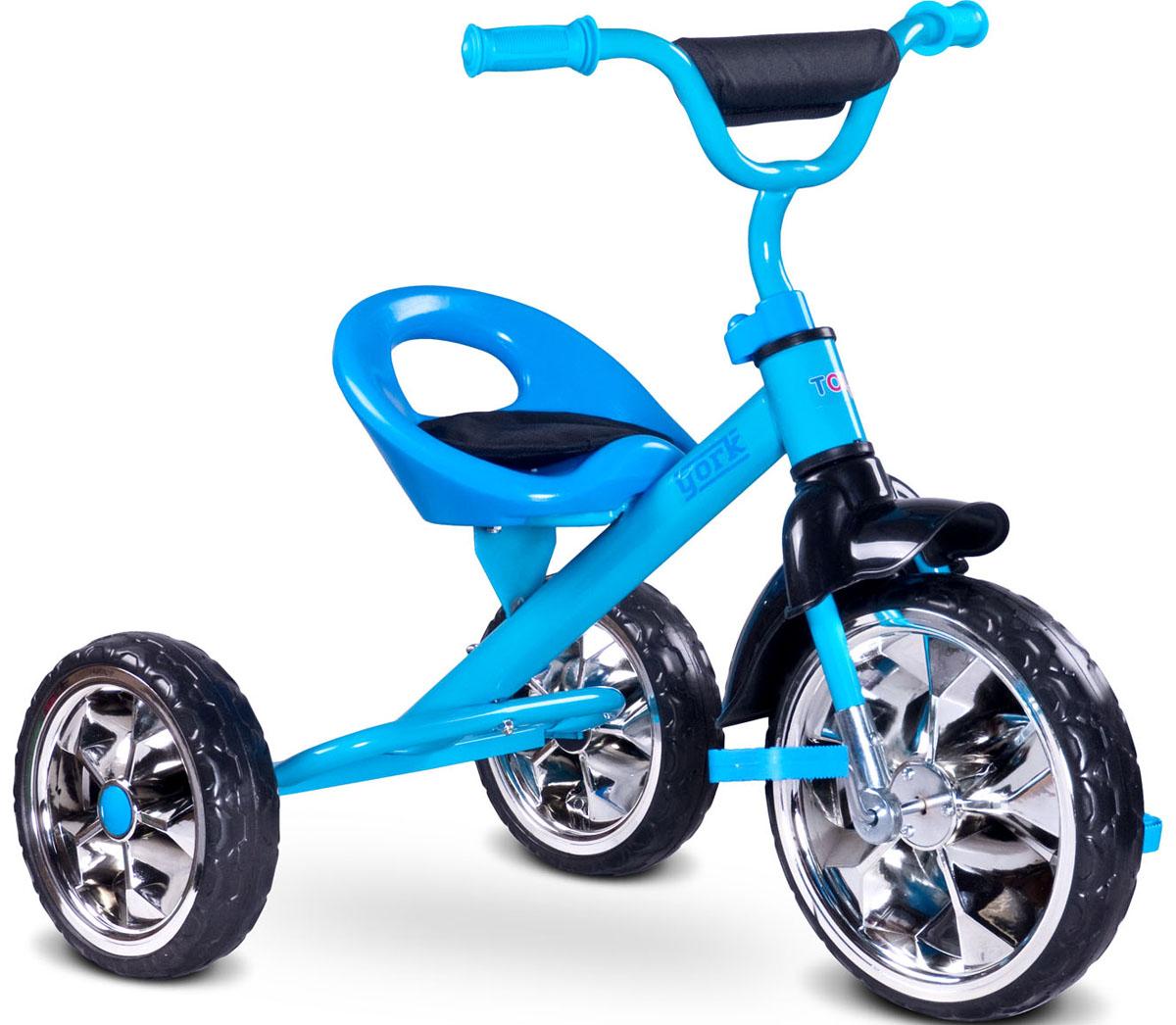 Caretero Велосипед трехколесный детский York цвет голубой