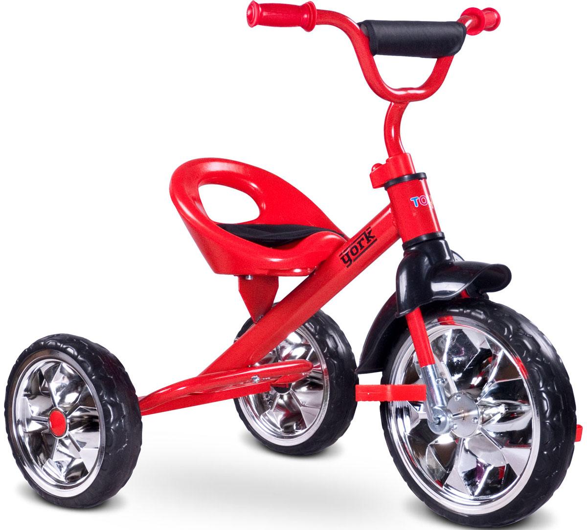 Caretero Велосипед трехколесный детский York цвет красный