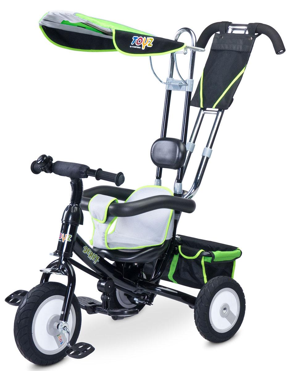 Caretero Велосипед-каталка Derby цвет зеленый -  Велосипеды-каталки