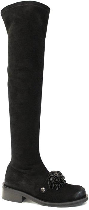 Ботфорты женские Graciana, цвет: черный. W2600-22C239-1. Размер 40
