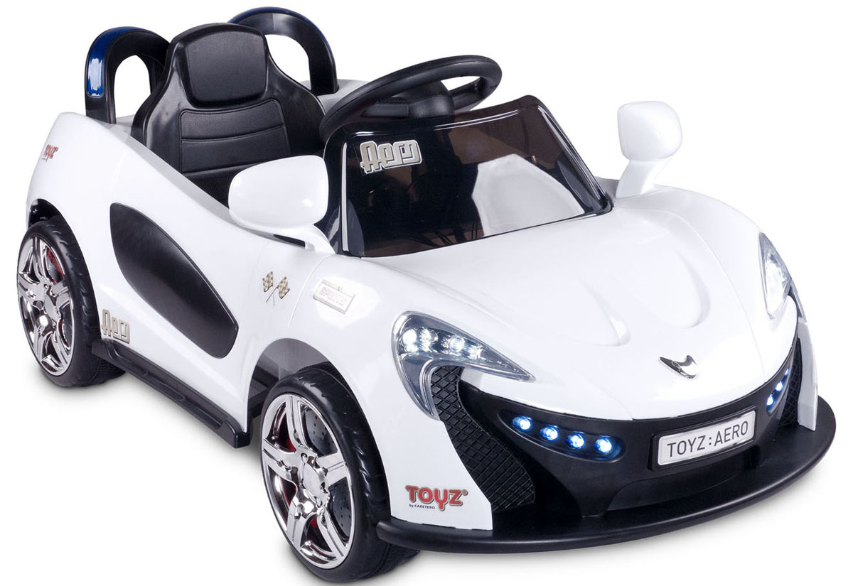 Caretero Электромобиль Aero цвет белый - Электромобили