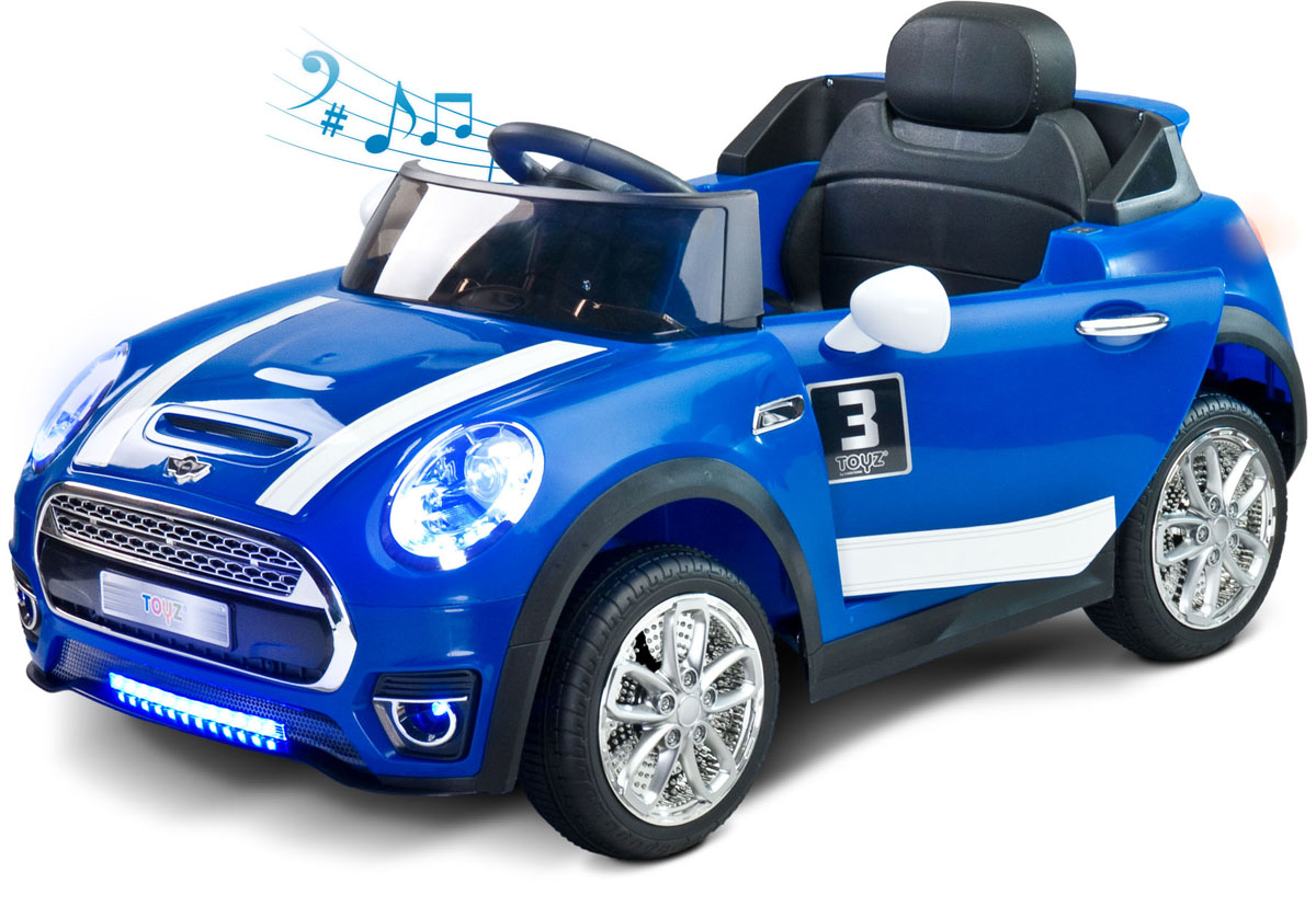 Caretero Электромобиль Maxi цвет голубой - Электромобили