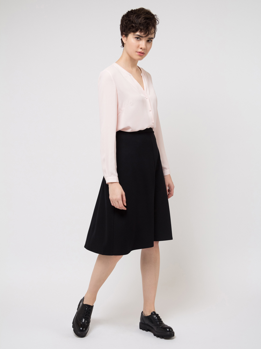 Блузка женская Sela, цвет: розовый. B-112/783-8111. Размер 46B-112/783-8111
