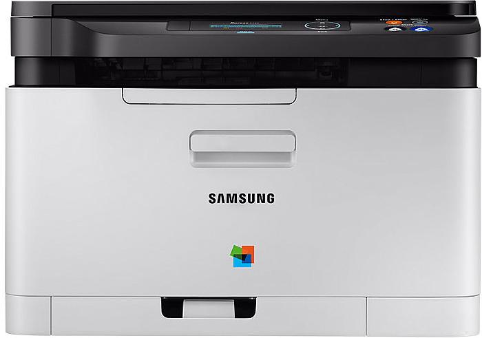 Samsung Xpress SL-C480 МФУ1000453475Цветные МФУ Samsung Xpress C480 — это сочетание удобства эксплуатации, высокой производительности идоступной цены. МФУ идеально подойдет для современных небольших организаций и домашних офисов, гдетребуется мобильность и постоянная доступность.Простой запуск и быстрая установка устройства Ресурс тонера позволяет печатать до 1500 страниц Быстрая кнопка Экономия поможет сократить эксплуатационные расходы Быстрая печать высокого качества Технология ReCP и система управления цветом гарантируют отличное качество изображений и четкостьтекста Высокая скорость печати благодаря улучшенному ЦП с частотой 800 МГц