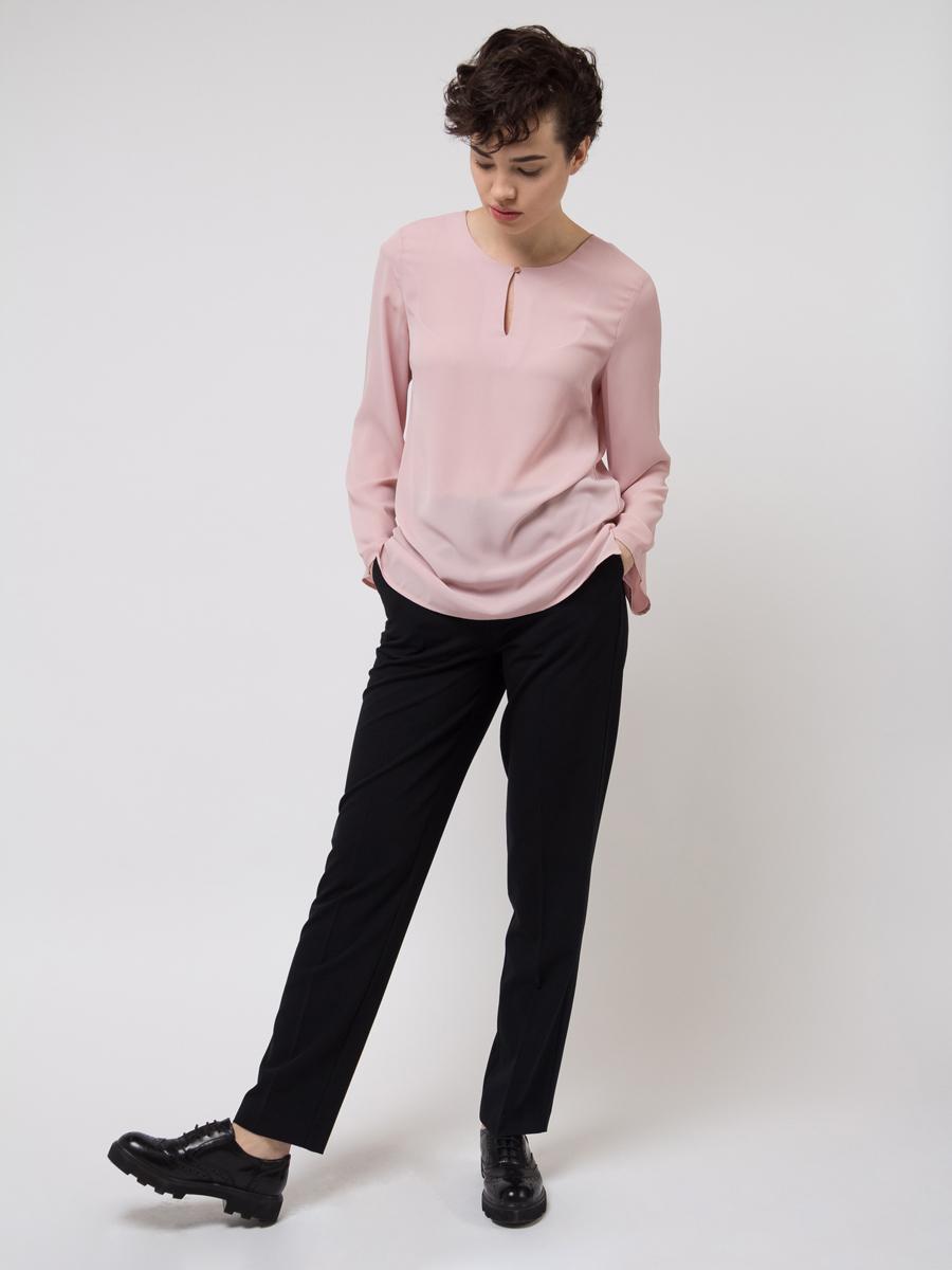 Блузка женская Sela, цвет: светло-розовый. Tw-112/784-8111. Размер 44Tw-112/784-8111
