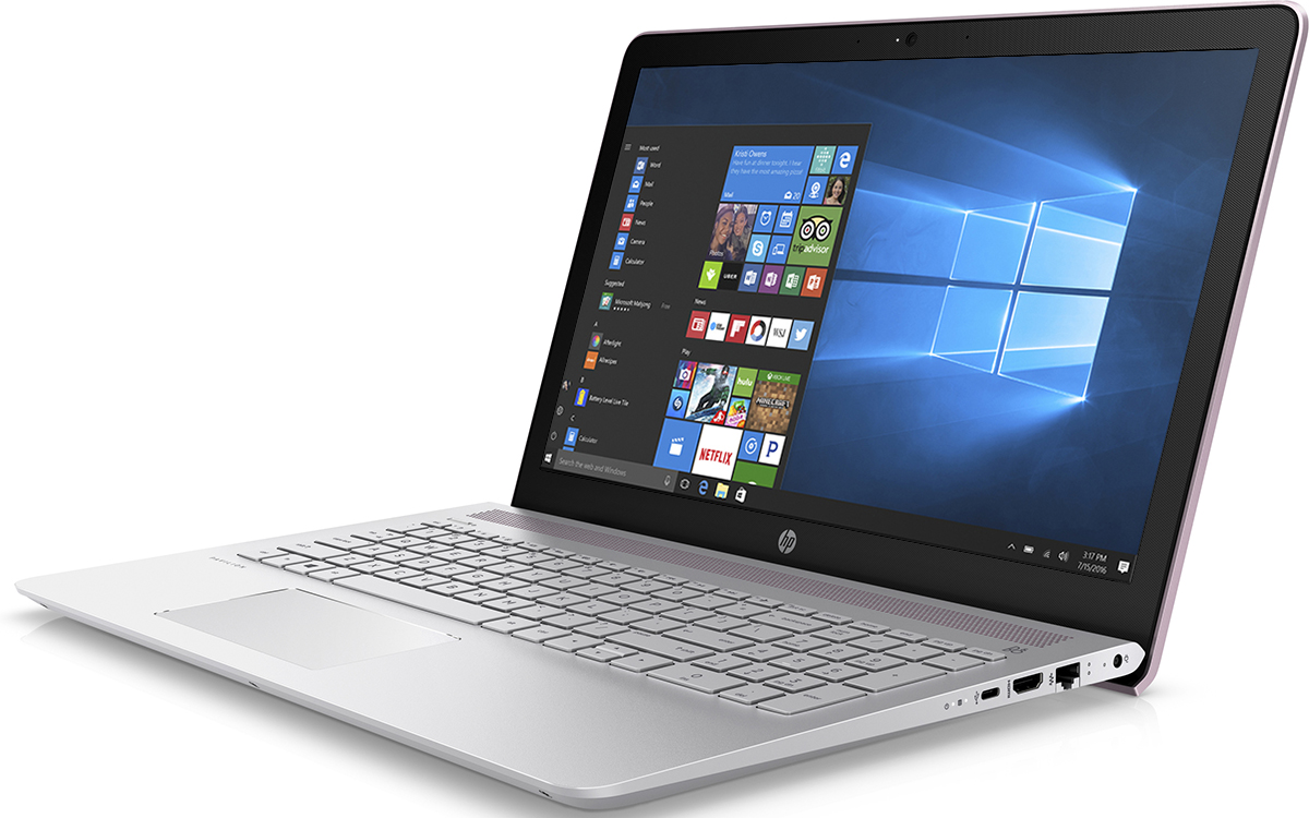 HP Pavilion 15-cc531ur, Orchid Pink (2CT30EA)511926Ноутбук HP Pavilion 15-cc531ur сочетает все преимущества настольного ПК в компактном корпусе. Потрясающий звук и четкий Full HD дисплей - это лишь часть тех преимуществ, которые оставляют незабываемые впечатления от использования этого компьютера.Используйте по максимуму весь функционал Windows на кристально чистом экране с качеством Full HD, оптимизированном для Windows 10. Четкое изображение, с которым вы не упустите ни одну деталь - даже при плохом освещении. Наслаждайтесь живым общением благодаря веб-камере HP Wide Vision HD.С помощью производительного процессора от Intel можно выполнять любые задачи. Создавайте великолепные визуальные материалы, не замедляя работу ноутбука, благодаря дискретной графической карте NVIDIA GeForce 940MX. Благодаря модулю беспроводной связи с сертификацией Wi-Fi общаться с коллегами по Интернету и электронной почте можно не только в офисе, но и в любом другом месте с точкой доступа.Встроенные динамики обеспечивают превосходное качество звучания. С помощью разъема HDMI можно подключить ноутбук к большому HD-монитору, что особенно удобно для показа презентаций.Точные характеристики зависят от модификации.Ноутбук сертифицирован EAC и имеет русифицированную клавиатуру и Руководство пользователя