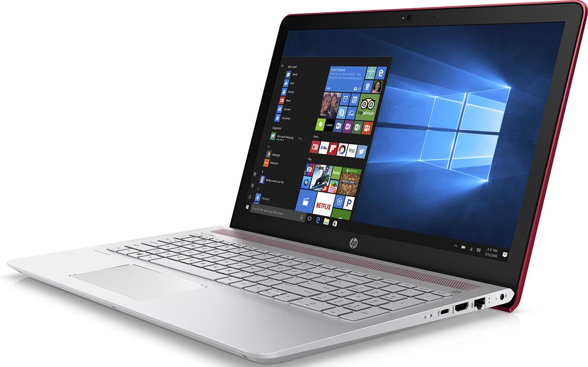 HP Pavilion 15-cc535ur, Empress Red (2CT33EA)511928Ноутбук HP Pavilion 15-cc535ur сочетает все преимущества настольного ПК в компактном корпусе. Потрясающий звук и четкий Full HD дисплей - это лишь часть тех преимуществ, которые оставляют незабываемые впечатления от использования этого компьютера.Используйте по максимуму весь функционал Windows на кристально чистом экране с качеством Full HD, оптимизированном для Windows 10. Четкое изображение, с которым вы не упустите ни одну деталь - даже при плохом освещении. Наслаждайтесь живым общением благодаря веб-камере HP Wide Vision HD.С помощью производительного процессора от Intel можно выполнять любые задачи. Создавайте великолепные визуальные материалы, не замедляя работу ноутбука, благодаря дискретной графической карте NVIDIA GeForce 940MX. Благодаря модулю беспроводной связи с сертификацией Wi-Fi общаться с коллегами по Интернету и электронной почте можно не только в офисе, но и в любом другом месте с точкой доступа.Встроенные динамики обеспечивают превосходное качество звучания. С помощью разъема HDMI можно подключить ноутбук к большому HD-монитору, что особенно удобно для показа презентаций.Точные характеристики зависят от модификации.Ноутбук сертифицирован EAC и имеет русифицированную клавиатуру и Руководство пользователя