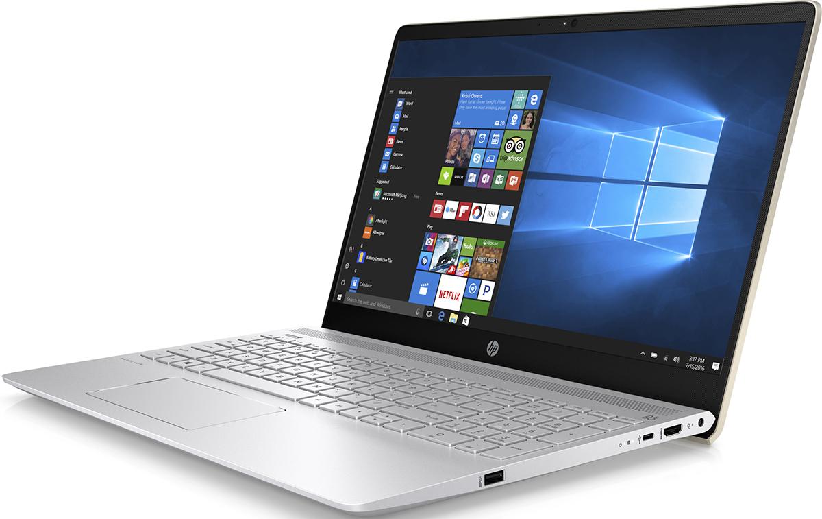 HP Pavilion 15-ck004ur, Silk Gold (2PP67EA)512279Ноутбук HP Pavilion 15-ck004ur сочетает все преимущества настольного ПК в компактном корпусе. Потрясающий звук и четкий Full HD дисплей - это лишь часть тех преимуществ, которые оставляют незабываемые впечатления от использования этого компьютера.Используйте по максимуму весь функционал Windows на кристально чистом экране с качеством Full HD, оптимизированном для Windows 10. Четкое изображение, с которым вы не упустите ни одну деталь - даже при плохом освещении. Наслаждайтесь живым общением благодаря веб-камере HP Wide Vision Full HD.С помощью производительного процессора от Intel можно выполнять любые задачи. Создавайте великолепные визуальные материалы, не замедляя работу ноутбука, благодаря встроенной графической карте Intel UHD Graphics 620. Благодаря модулю беспроводной связи с сертификацией Wi-Fi общаться с коллегами по Интернету и электронной почте можно не только в офисе, но и в любом другом месте с точкой доступа.Встроенные динамики обеспечивают превосходное качество звучания. С помощью разъема HDMI можно подключить ноутбук к большому HD-монитору, что особенно удобно для показа презентаций.Используйте 25 Гбайт Dropbox для хранения и синхронизации файлов. Храните фотографии, музыку и другие файлы и делитесь ими в любом месте, где есть доступ в Интернет, в течение года.Точные характеристики зависят от модификации.Ноутбук сертифицирован EAC и имеет русифицированную клавиатуру и Руководство пользователя