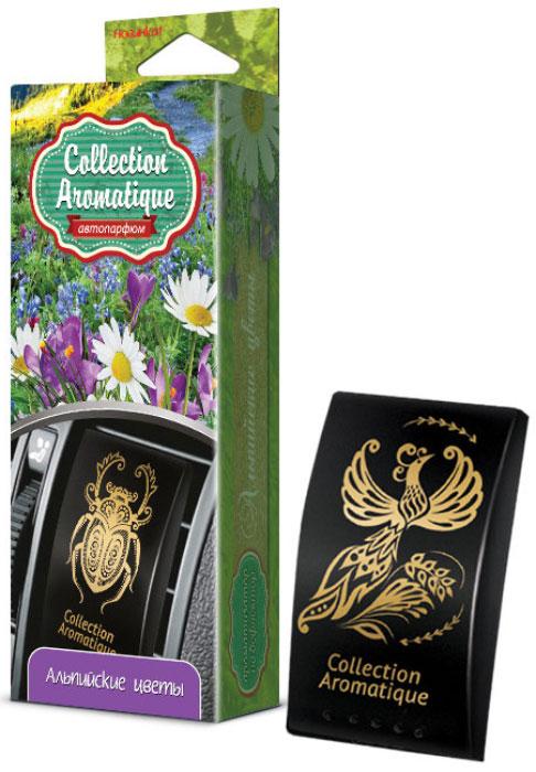 Ароматизатор автомобильный Fouette Альпийские цветы, на дефлектор