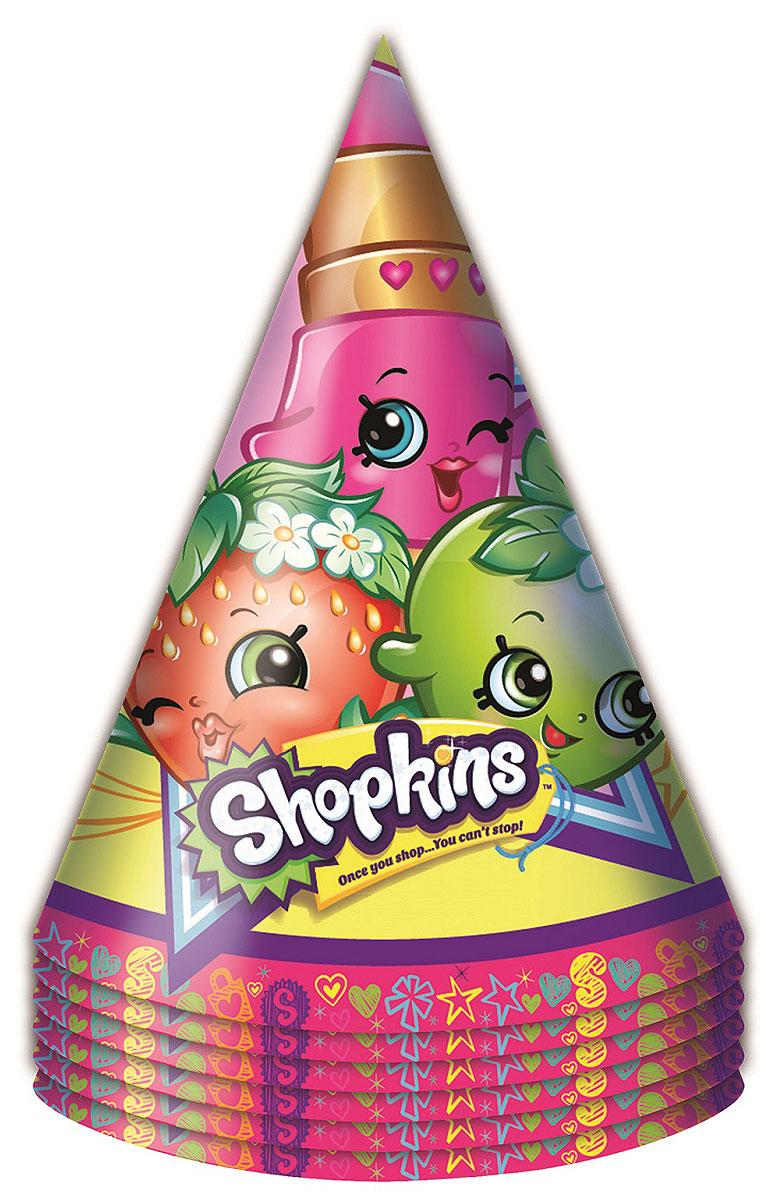 Shopkins Набор колпаков 6 шт -  Колпаки и шляпы
