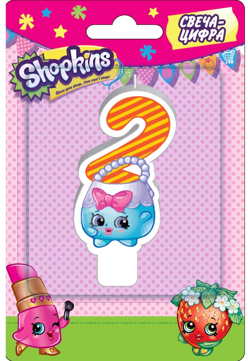 Shopkins Свеча-цифра 2 игровые наборы shopkins игровой набор веселая кухня
