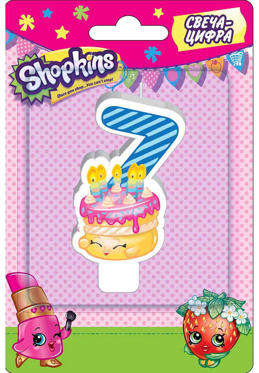 Shopkins Свеча-цифра 7 геннадий норд тортик с сюрпризом или заметки из барсетки 7