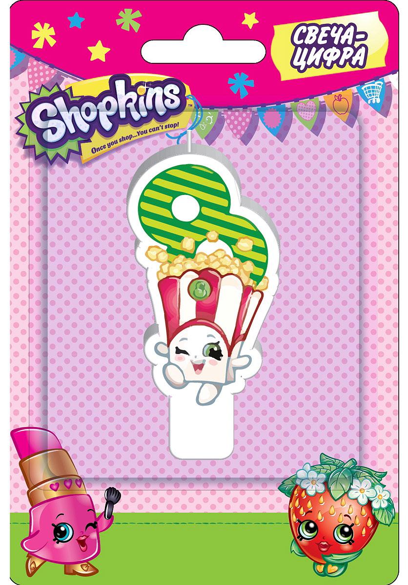 Shopkins Свеча-цифра 8 игровые наборы shopkins игровой набор веселая кухня