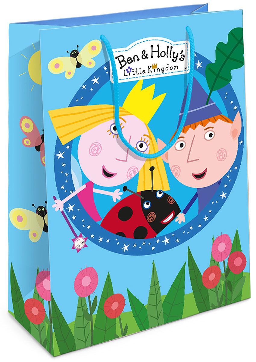 Бен и Холли Пакет подарочный Бен и Холли 25x9x35 см -  Аксессуары для детского праздника