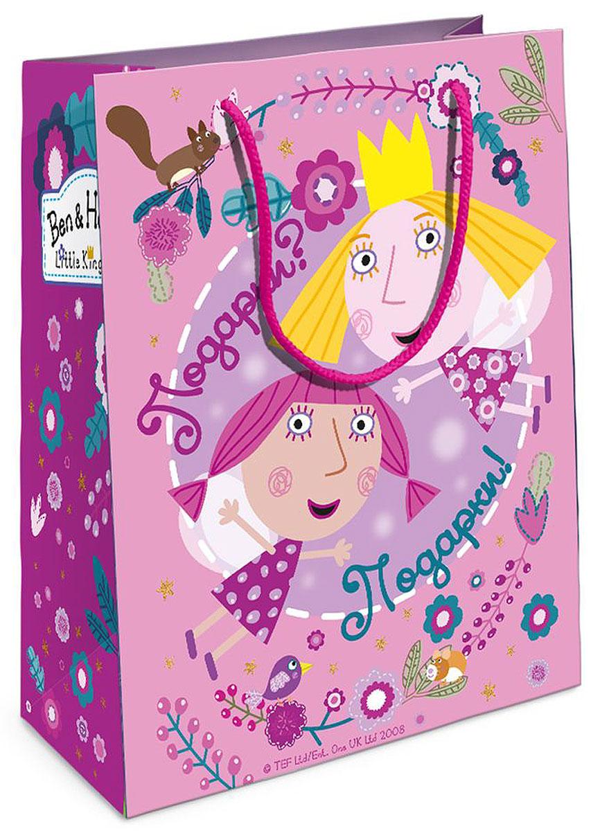 Бен и Холли Пакет подарочный Холли-фея 18x10x23 см -  Аксессуары для детского праздника