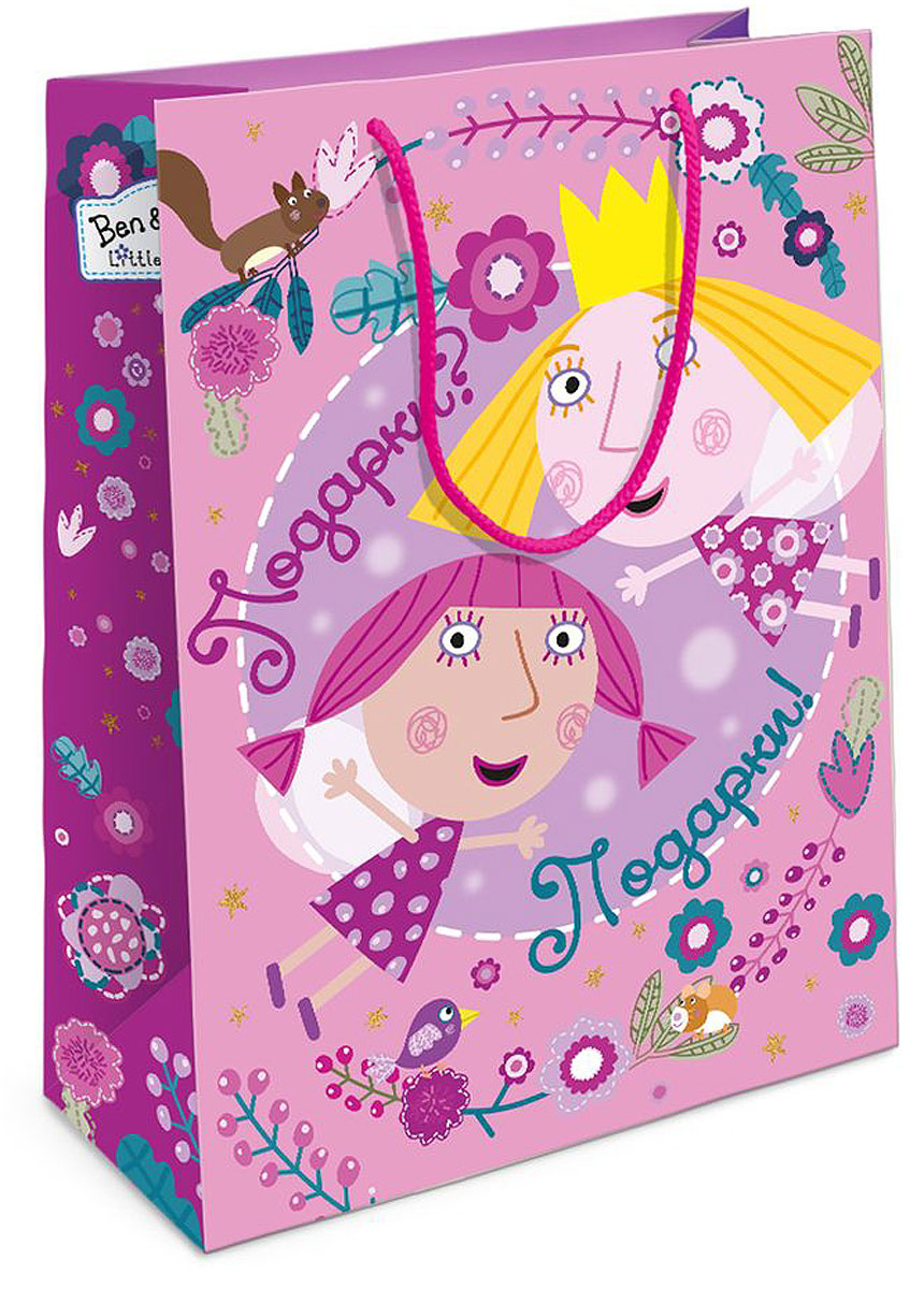 Бен и Холли Пакет подарочный Холли-фея 25x9x35 см -  Аксессуары для детского праздника