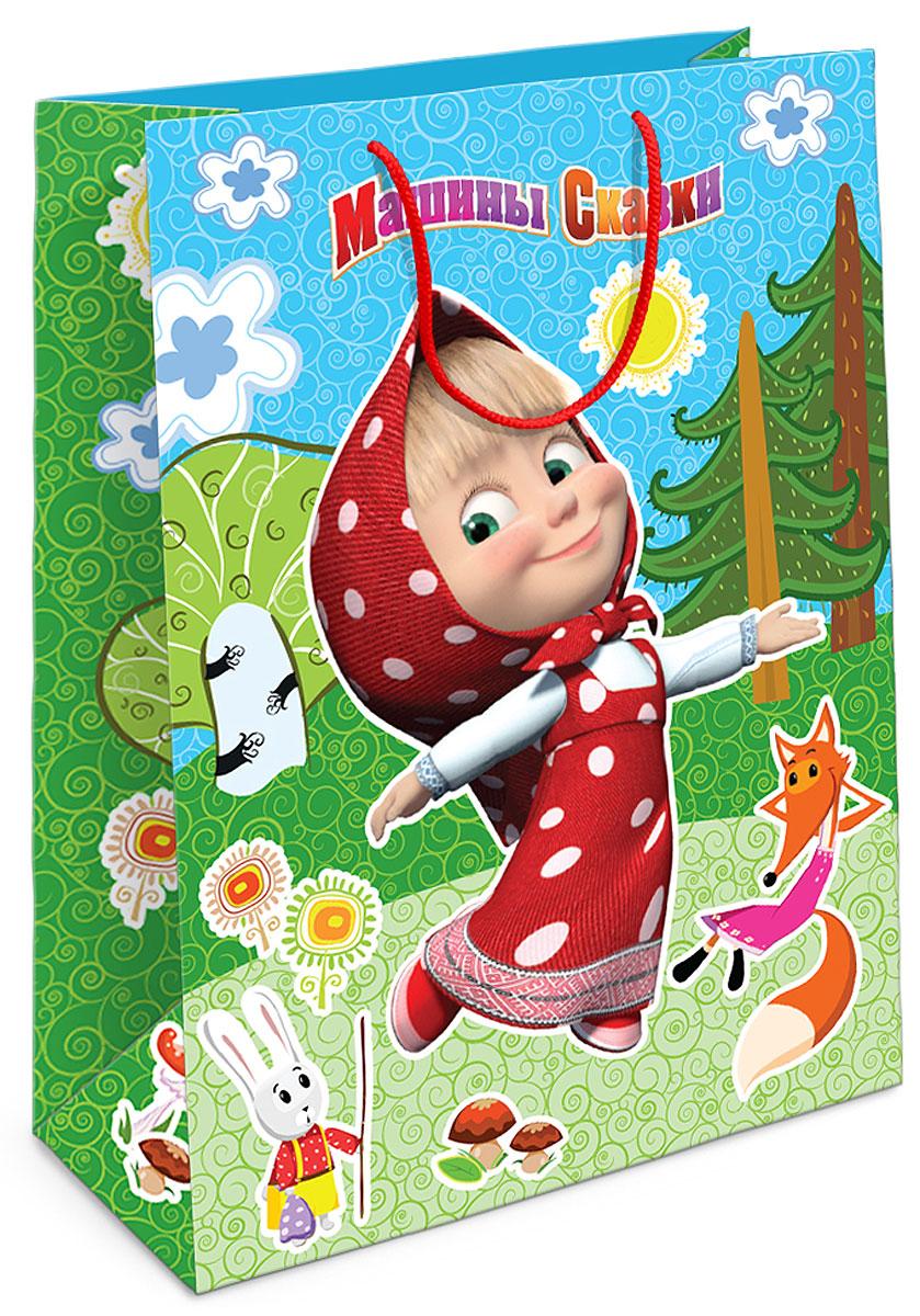 Маша и Медведь Пакет подарочный Лесная сказка Маши -  Аксессуары для детского праздника
