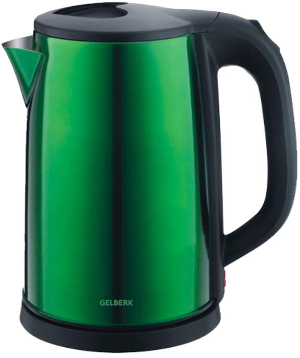 Gelberk GL-323, Green чайник электрический - Чайники