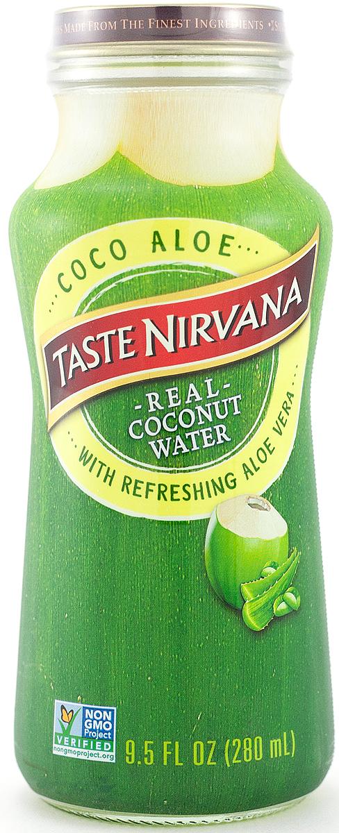 Taste Nirvana Вода кокосовая с мякотью алоэ вера, 280 мл011259801133Мы гордимся своим Coco Aloe, ведь больше нигде не найти такую фантастическую по вкусу комбинацию! Мысмешали мякоть алоэ вера с натуральной кокосовой водой. А вы знали, что кокосовая вода является лучшим естественным консервантом для всего натурального, что в неедобавляется? Благодаря этому свойству, напиток сохранит для вас все полезные свойства алоэ вера, которымиПрирода Мама делится с вами. Полезные свойства: - Замедляет процесс старения- Повышает умственную деятельность и концентрацию внимания- Повышает выносливость и восстанавливает силы при физических нагрузках- Выводит токсины из организма- Способствует снижению веса- Бодрит и повышает настроение- Подавляет чувство голода- Повышает иммунитет- Уменьшает риск развития раковых заболеваний- Устраняет алкогольный абстинентный синдром- Повышает уровень кислорода в крови- Ускоряет процессы метаболизма.