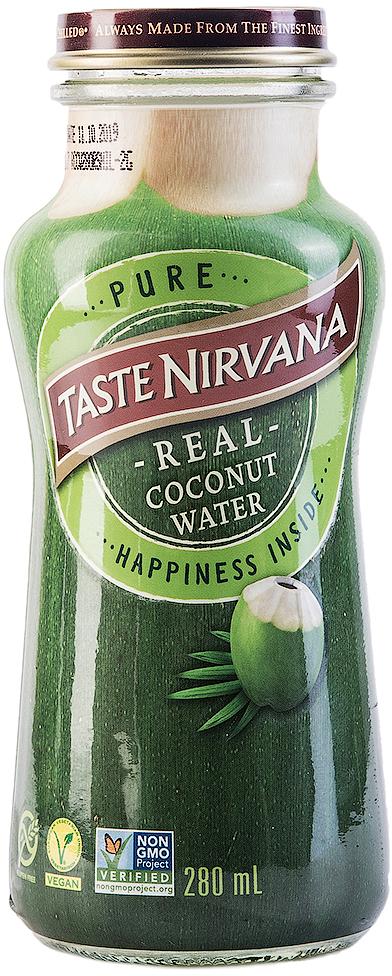 Taste Nirvana Вода кокосовая, Тайланд, 280 мл.011259806862Знаменитая дельта Мае Клонг снабжает многочисленные семейные плантации большим количеством воды. Благодаря идеальному сочетанию речной и морской воды, кокосы здесь больше и слаще, чем в других регионах Тайланда. Они зреют в первозданных условиях, без ГМО и химии. Именно здесь расположена наша семейная фабрика Taste Nirvana. Каждый день мы выбираем лучшие кокосы и бережно сохраняем их сок в наших бутылочках, чтобы в любой момент вы смогли утолить жажду свежестью натуральной и очень полезной кокосовой воды, а не искусственным вкусом других напитков. Полезные свойства: -Замедляет процесс старения . -Повышает умственную деятельность и концентрацию внимания. -Повышает выносливость и восстанавливает силы при физических нагрузках. -Выводит токсины из организма. -Способствует снижению веса. -Бодрит и повышает настроение. - Подавляет чувство голода. -Повышает иммунитет. -Уменьшает риск развития раковых заболеваний. -Устраняет алкогольный абстинентный синдром. -Повышает уровень кислорода в крови. -Ускоряет процессы метаболизма.