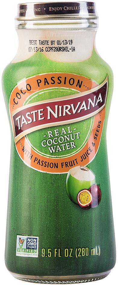 Taste Nirvana Вода кокосовая с соком и семенами маракуйя, 280 мл011259906340Мы смешали натуральную кокосовую воду и нашу новую страсть - природную мякоть маракуйя. Так родился Taste Nirvana, в котором сок маракуйя и ее хрустящие семена создают уникальные вкусовые ощущения. Эти электростанции жизненной энергии знамениты среди фруктов богатейшим содержанием фосфора и магния, а в комбинации с кокосовой водой, являются лучшим антиоксидантом. Спасибо, Природа Мама!Полезные свойства:- Замедляет процесс старения- Повышает умственную деятельность и концентрацию внимания- Повышает выносливость и восстанавливает силы при физических нагрузках- Выводит токсины из организма- Способствует снижению веса- Бодрит и повышает настроение- Подавляет чувство голода- Повышает иммунитет- Уменьшает риск развития раковых заболеваний- Устраняет алкогольный абстинентный синдром- Повышает уровень кислорода в крови- Ускоряет процессы метаболизма
