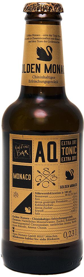 Golden Monaco экстра-сухой Тоник на основе природной минеральной воды с хинином, 230 мл as monaco nîmes olympique